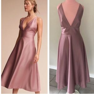 Anthropologie BHLDN Pink Shelby Dress NWOT